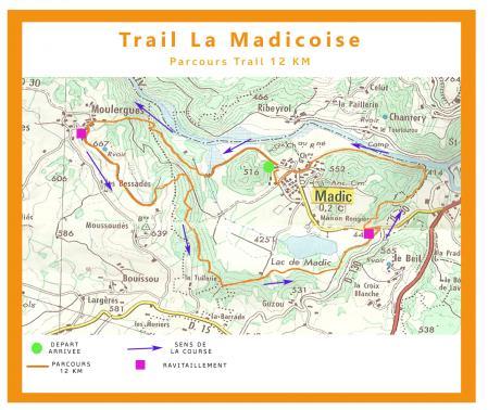 Affiche 12km parcours
