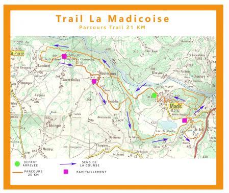 Affiche 20km parcours