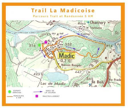 Affiche 5km parcours